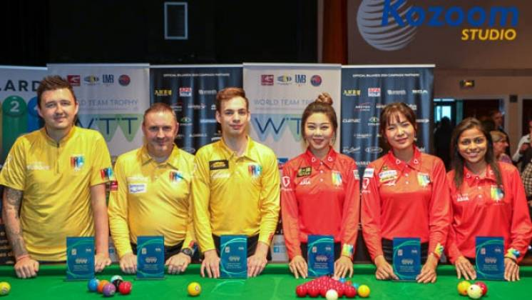 First World Team Trophy Goes to European Men and Asian Women, But Win is Bittersweet
