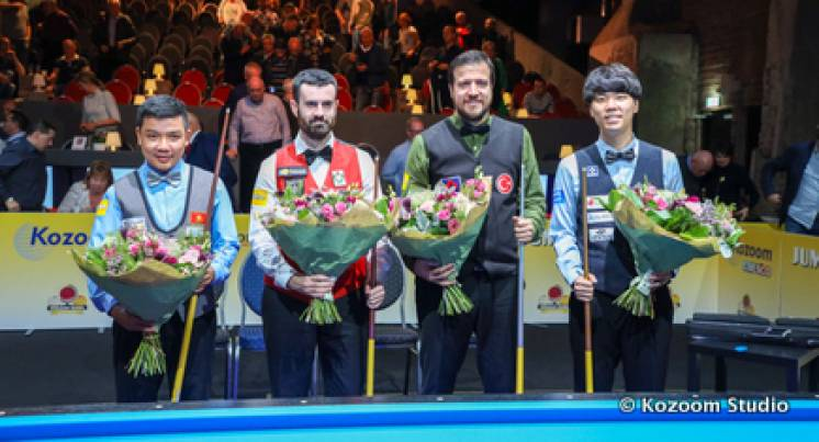 Haeng-Jik Kim Defeats Lufti Cenet In World Cup Final!