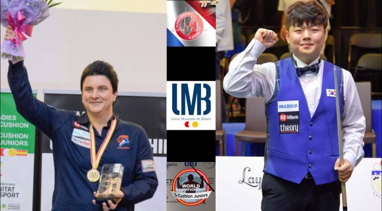 Lather, Rinse, REPEAT! Therese Klompenhouwer and Myung-Woo Cho Both Champions Again!