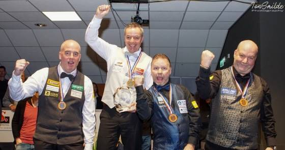 Dick Jaspers Wins Dutch Championship At Masters Tournament