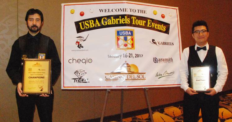 Pedro Piedrabuena Tops at USBA Tour Open In Tucson