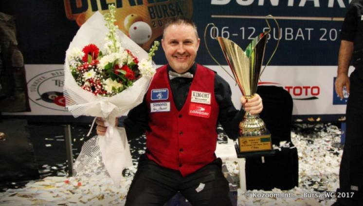 Frederic Caudron Wins The 2017 UMB World Cup Bursa