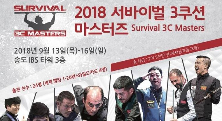 New Survival 3C Masters Event - 1st Time On World Stage