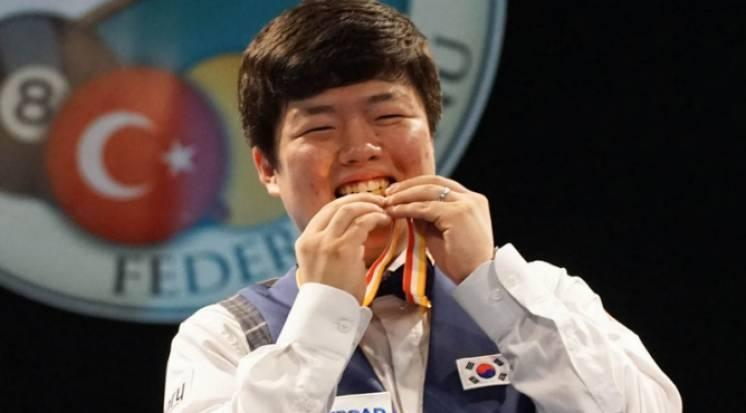 Myung-Woo Cho Wins World Junior Championship for 2nd Time
