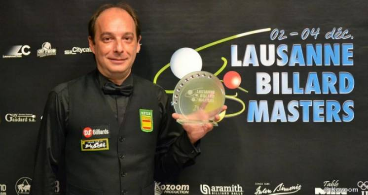 Dani Sanchez Goes Undefeated To Win The 2016 Lausanne Billiard Masters