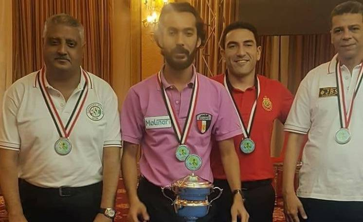 Sameh Sidhom New Champion of African Federation