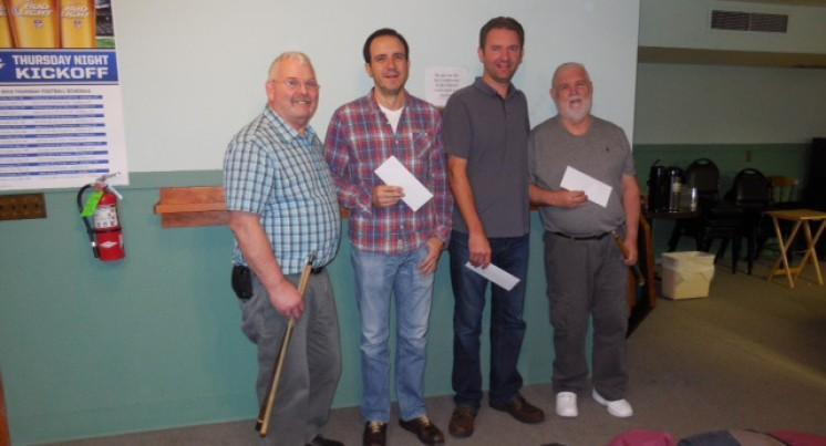 Russ Guppy Memorial at Hood River Elks Lodge Attracts 21 Players