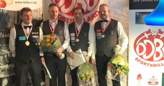 Thomas Andersen Repeats As Champion Of Denmark