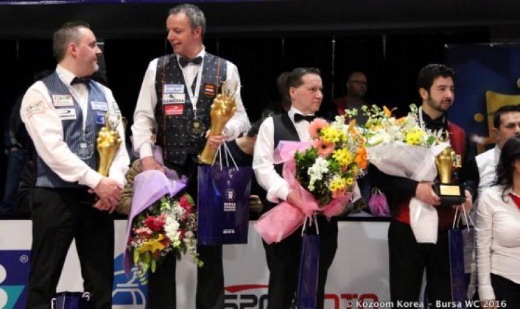 Dick Jaspers Takes Top Spot in 2016 Bursa World Cup