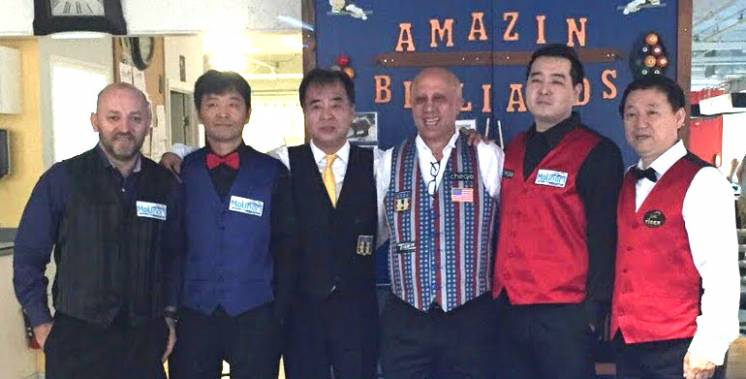 USBA Tour Event at Amazin Billiards Draws From New York and Boston