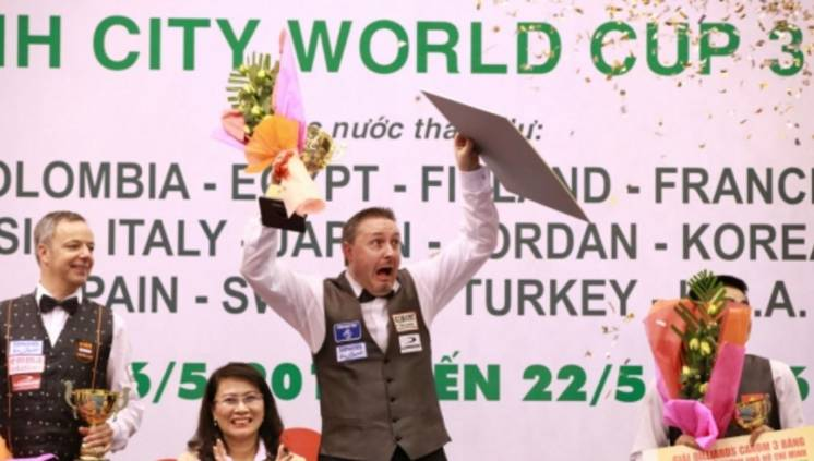 Frederic Caudron Wins Ho Chi Minh City World Cup