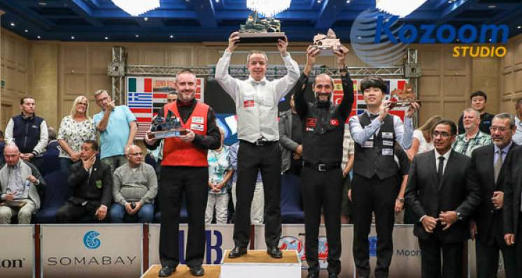 Dick Jaspers Tops World Ranking After World Cup Win In Eqypt