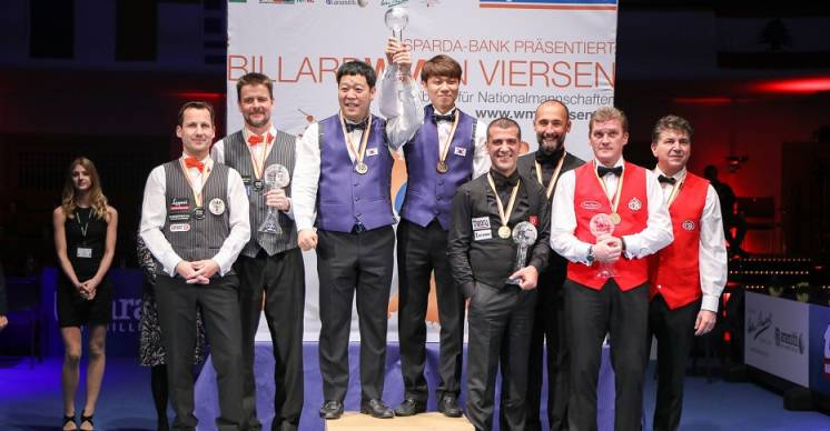 South Korea Repeats as World Team Champions