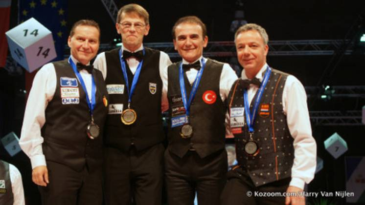 Torbjorn Blomdahl Wins 2015 European Three Cushion Championship