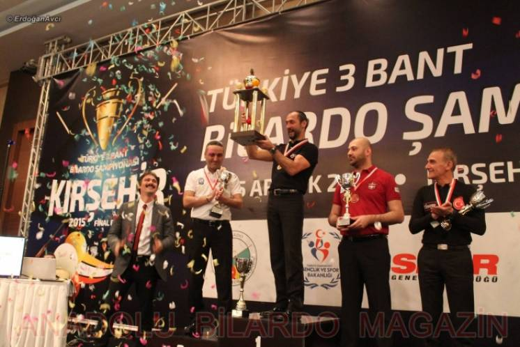 Semih Sayginer Wins 2015 Turkish Billiard Title