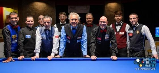 Dick Jaspers Wins 2015 Lausanne Billiard Masters